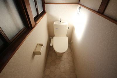 【トイレ】薬師通1丁目貸家