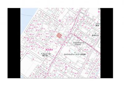 【地図】新浜町4丁目(No.44)
