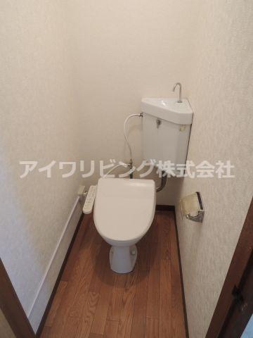 温水洗浄便座完備【カツザワコーポA】