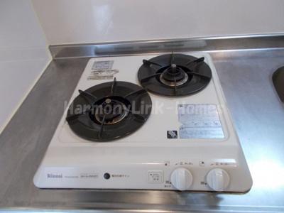 stage大島のコンパクトなキッチンで掃除もラクラク(2口ガスコンロ)☆(別部屋参考写真)