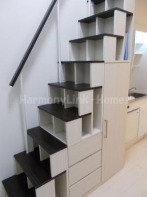 ハーモニーテラス中野の収納付き階段❶☆(別部屋参考写真)