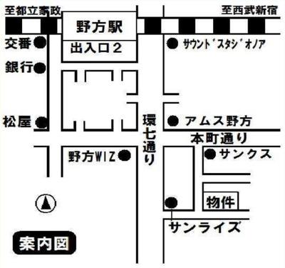 ライフピアモジュールの地図☆