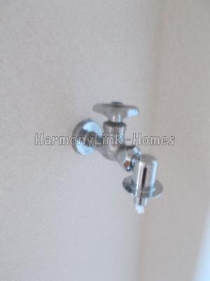 ライフピアモジュールの水栓(洗濯機置場↑)☆