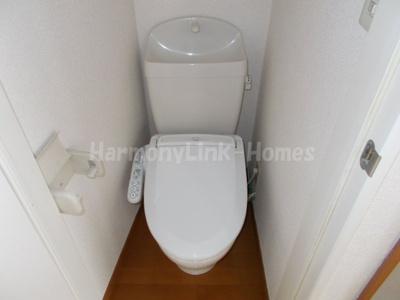 グレースアリスの清潔感のあるトイレです(同建物・別部屋参考写真)☆