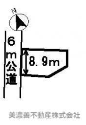 【区画図】22410 岐阜市日光町土地