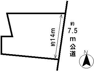 【区画図】41932 岐阜市江崎北土地