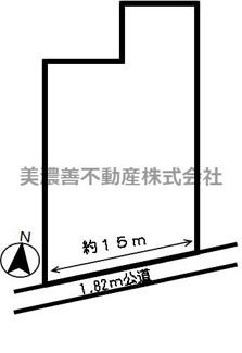 【区画図】43592 岐阜市領下土地