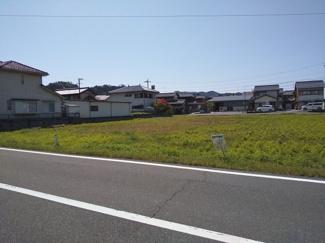 【前面道路含む現地写真】45474 山県市高木土地