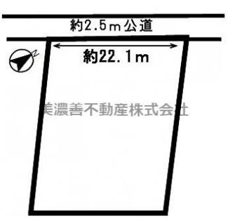 【区画図】47092 岐阜市打越土地