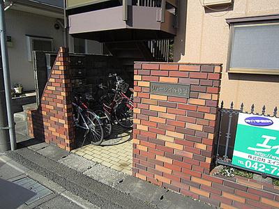 【エントランス】リバーサイド鶴間