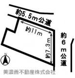 48894 山県市高富土地の画像