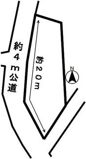 【区画図】49019 岐阜市正木土地
