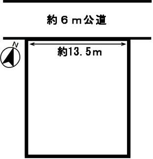 【区画図】51069 山県市東深瀬土地
