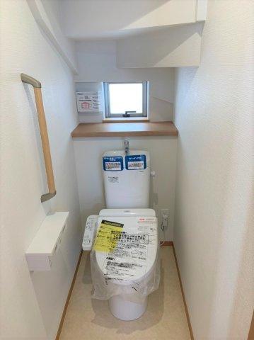 【トイレ】うるま市赤道 新築戸建て住宅