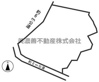 【区画図】50424 岐阜市加野土地