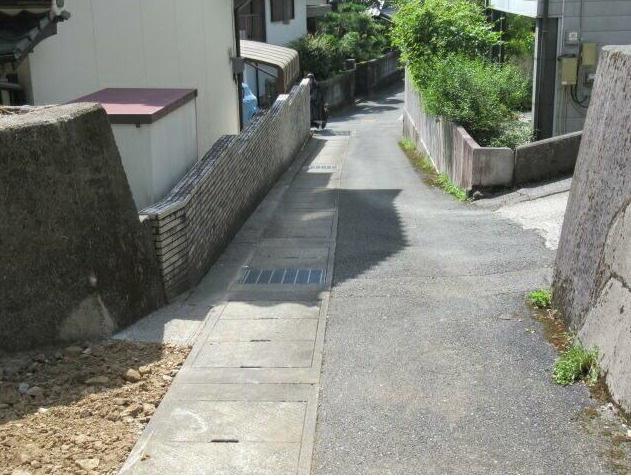 【前面道路含む現地写真】いの町加田