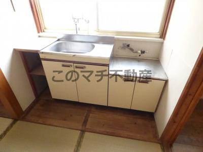 使いやすいキッチンです(2階)