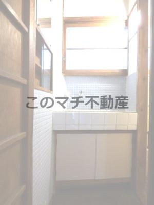 独立洗面化粧台付き(1階)