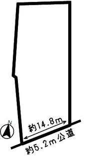 【区画図】38834 各務原市那加桐野町土地