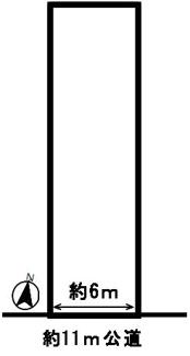 【区画図】52150 岐阜市北一色土地