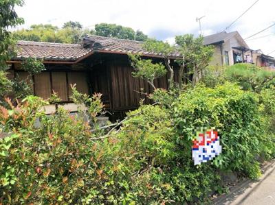 【外観】伏見区桃山町本多上野 条件無売土地