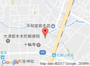【地図】ルミエール琵琶
