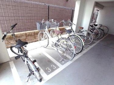 GENOVIA中野・都立家政:駐輪場