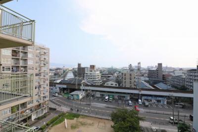 【展望】八戸ノ里ガーデンハイツ