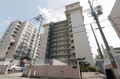 【外観】八戸ノ里ガーデンハイツ