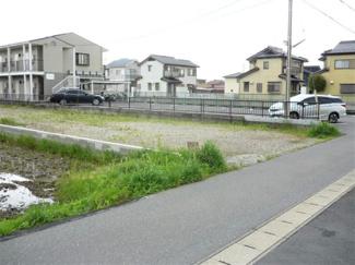 【前面道路含む現地写真】33674 羽島市上中町長間土地