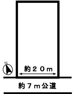 【区画図】29245 岐阜市柳津町梅松土地