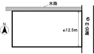 【区画図】36864 大垣市南若森土地