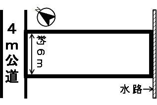 【区画図】41104 岐阜市旭見ケ池町土地