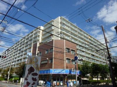 【外観】関目グリーンハイツA棟