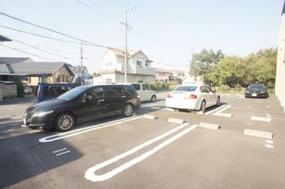 【駐車場】ドミール・ヤマキ