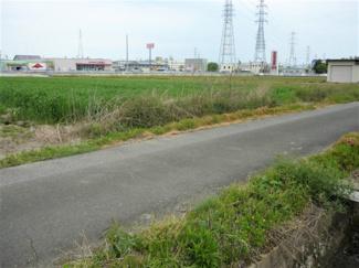 【前面道路含む現地写真】50354 本巣市宗慶土地