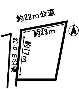 【区画図】50865 安八郡神戸町丈六道土地