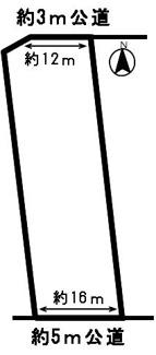 【区画図】51474 瑞穂市稲里土地