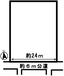 【区画図】51538 岐阜市薬師町土地