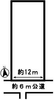【区画図】51539 岐阜市薬師町土地