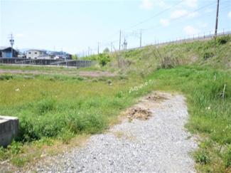 【前面道路含む現地写真】51635 瑞穂市稲里土地