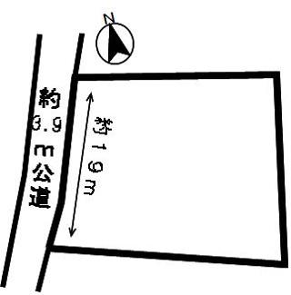 【区画図】52329 本巣市上真桑土地