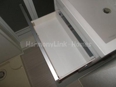 アンビアンテの独立洗面台収納