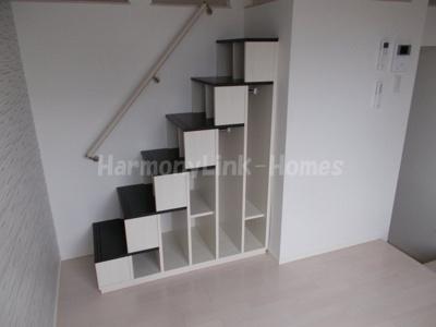 アンビアンテの収納階段