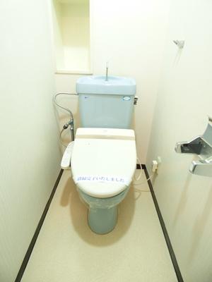 【トイレ】サンコーポ佐鳴台