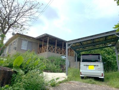 【外観】今帰仁村字今泊の中古一戸建