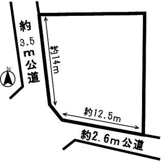 【区画図】53294 羽島郡岐南町八剣北土地