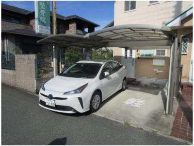 【駐車場】三田市西山店舗付き住宅