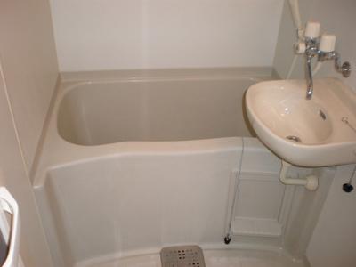 【浴室】フラワーキャッスル前島