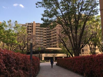 【外観】桜上水ガーデンズB棟